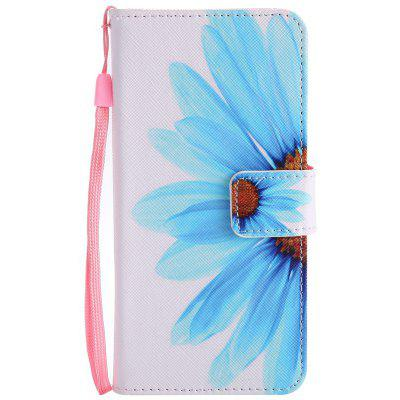 Buy WHITE + BLUE New Painted Pu Phone Case for Samsung Galaxy S8 for $4.35 in GearBest store