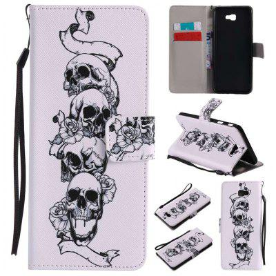 New Painted Pu Phone Case for Samsung Galaxy J7 Prime