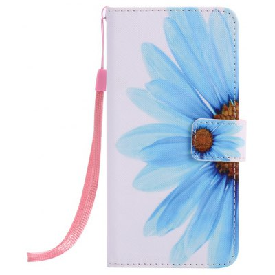 Buy WHITE + BLUE New Painted Pu Phone Case for Iphone 6S Plus / 6 Plus for $4.65 in GearBest store
