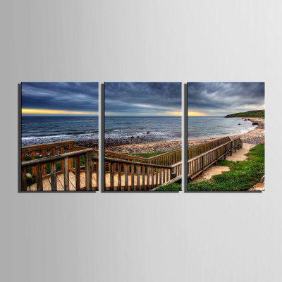 Yc Special Design Frameless Paintings Boardwalk Along The Coast of 3Prints<br>Yc Special Design Frameless Paintings Boardwalk Along The Coast of 3<br><br>Craft: Print<br>Form: Three Panels<br>Material: Canvas<br>Package Contents: 3 x Print<br>Package size (L x W x H): 55.00 x 75.00 x 2.00 cm / 21.65 x 29.53 x 0.79 inches<br>Package weight: 1.6000 kg<br>Painting: Include Inner Frame<br>Shape: Horizontal Panoramic<br>Style: Vintage, Fashion, Casual, Active<br>Subjects: Landscape<br>Suitable Space: Indoor,Garden,Living Room,Bathroom,Bedroom,Dining Room,Office,Hotel,Cafes,Kids Room,Kids Room,Study Room / Office,Boys Room,Girls Room,Game Room