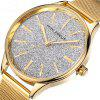 MINI FOCUS Mf0044 4529 Elegant Quartz Female Watch - MARIGOLD
