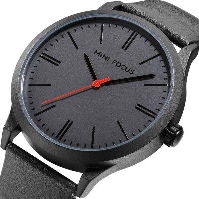 MINI FOCUS Mf0058G 4531 Trendy Quartz Men WatchMens Watches<br>MINI FOCUS Mf0058G 4531 Trendy Quartz Men Watch<br><br>Band material: Leather<br>Band size: 24.7 x 2cm<br>Brand: MINI FOCUS<br>Case material: Alloy<br>Clasp type: Pin buckle<br>Dial size: 4.4 x 4.4 x 1.07cm<br>Movement type: Quartz watch<br>Package Contents: 1 x Watch, 1 x Watch Box<br>Package size (L x W x H): 28.00 x 8.00 x 3.50 cm / 11.02 x 3.15 x 1.38 inches<br>Package weight: 0.0850 kg<br>Product size (L x W x H): 24.70 x 4.40 x 1.07 cm / 9.72 x 1.73 x 0.42 inches<br>Product weight: 0.0550 kg<br>Shape of the dial: Round<br>Watch style: Fashion, Trends in outdoor sports, Business, Casual<br>Watches categories: Men