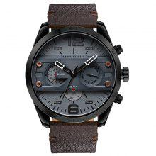 MINI FOCUS Mf0068G 4532 Leisure Dial Decor Male Watch