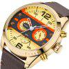 MINI FOCUS Mf0068G 4532 Leisure Dial Decor Male Watch - CITRUS