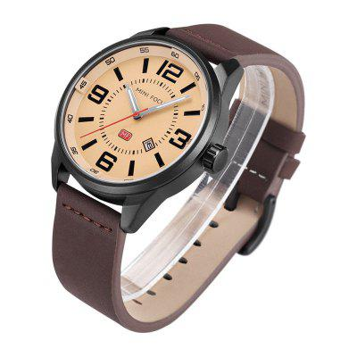 MINI FOCUS Mf0050G 4447 Luminous Needle Male WatchMens Watches<br>MINI FOCUS Mf0050G 4447 Luminous Needle Male Watch<br><br>Available Color: Black,Blue,Coffee<br>Band material: Leather<br>Band size: 24.8 x 2cm<br>Brand: MINI FOCUS<br>Case material: Alloy<br>Clasp type: Pin buckle<br>Dial size: 4.6 x 4.6 x 1.2cm<br>Display type: Analog-Digital<br>Movement type: Quartz watch<br>Package Contents: 1 x Watch, 1 x Watch Box<br>Package size (L x W x H): 28.00 x 8.00 x 3.50 cm / 11.02 x 3.15 x 1.38 inches<br>Package weight: 0.0640 kg<br>Product size (L x W x H): 24.80 x 4.60 x 1.20 cm / 9.76 x 1.81 x 0.47 inches<br>Product weight: 0.0340 kg<br>Shape of the dial: Round<br>Special features: Luminous, Day<br>Watch mirror: Mineral glass<br>Watch style: Business, Casual, Outdoor Sports, Fashion<br>Watches categories: Men<br>Water resistance: 30 meters