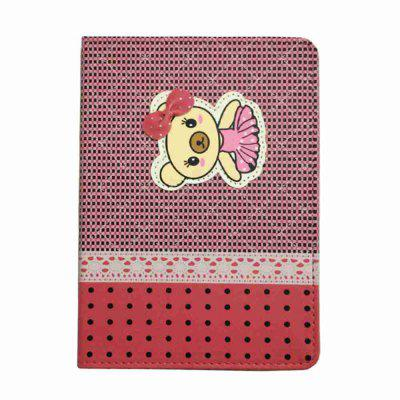 Bow Tie Painted Pu Tablet Case for Ipad Mini 1/2/3