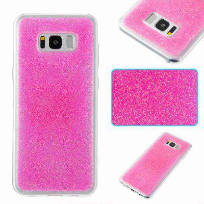 Flash Powder Painted Dijiao Tpu Phone Case for Samsung Galaxy S8 Plus