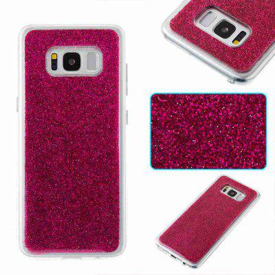 Flash Powder Painted Dijiao Tpu Phone Case for Samsung Galaxy s8