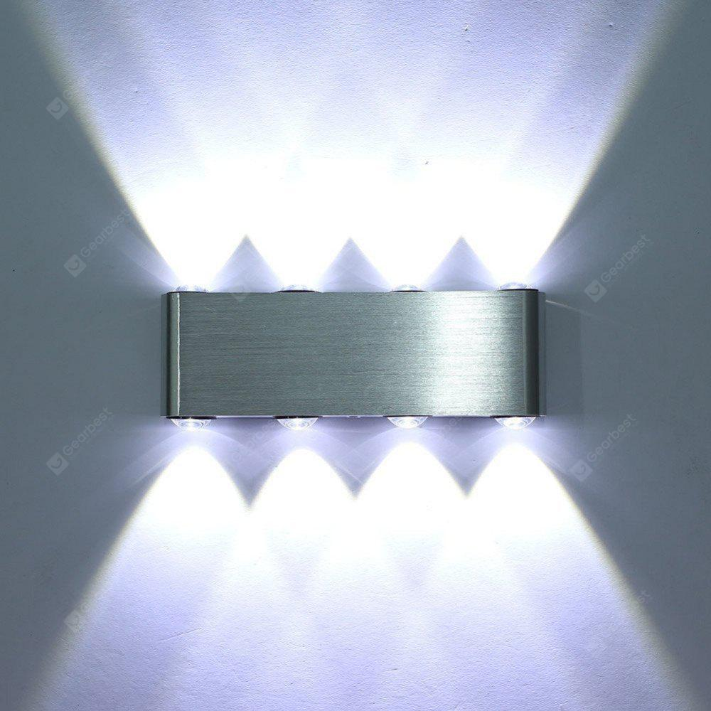 Brightness Modern 8W LED Wall Lamp Decor Lighting 85-265V