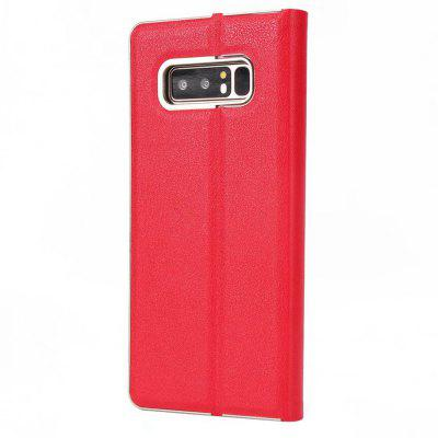 Wkae Beautiful Elegant Magnetic Closure PU Leather Protective Cover Case with Kickstand and Card Slot for Samsung Galaxy Note 8Samsung Note Series<br>Wkae Beautiful Elegant Magnetic Closure PU Leather Protective Cover Case with Kickstand and Card Slot for Samsung Galaxy Note 8<br><br>Features: Full Body Cases, Cases with Stand, With Credit Card Holder, Anti-knock, Dirt-resistant<br>For: Samsung Mobile Phone<br>Material: TPU, PU Leather<br>Package Contents: 1 x Phone Case<br>Package size (L x W x H): 20.00 x 15.00 x 2.00 cm / 7.87 x 5.91 x 0.79 inches<br>Package weight: 0.1000 kg<br>Style: Vintage