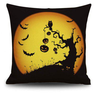 Buy Halloween Pumpkin Tree 2 Square Linen Decorative Throw Pillow Case Cushion Cover, COLORMIX, Home & Garden, Home Textile, Bedding, Pillow for $9.00 in GearBest store