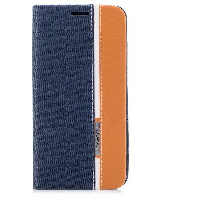 Buy BLUE British Style Stripe Design Flip Pu Leather Case for Xiaomi Redmi Note 5A for $4.31 in GearBest store