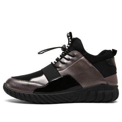 Men Casual Shoes New Fashion Flat Autumn Lace-Up Outdoor ShoesMen's Sneakers<br>Men Casual Shoes New Fashion Flat Autumn Lace-Up Outdoor Shoes<br><br>Available Size: 39-44<br>Closure Type: Lace-Up<br>Embellishment: None<br>Gender: For Men<br>Outsole Material: Rubber<br>Package Contents: 1? Pair of Shoes<br>Pattern Type: Solid<br>Season: Spring/Fall<br>Toe Shape: Round Toe<br>Toe Style: Closed Toe<br>Upper Material: Leather<br>Weight: 1.2000kg