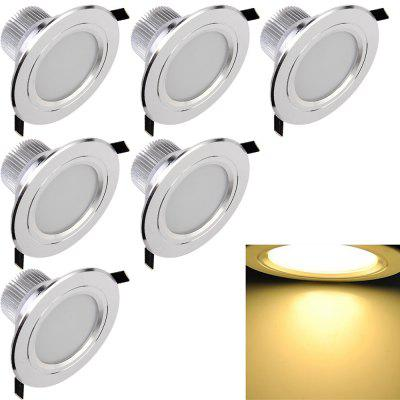 YouOKLight YK4412 7.5W  LED Downlight Ceiling Lamp 6PCS AC 85 - 265V