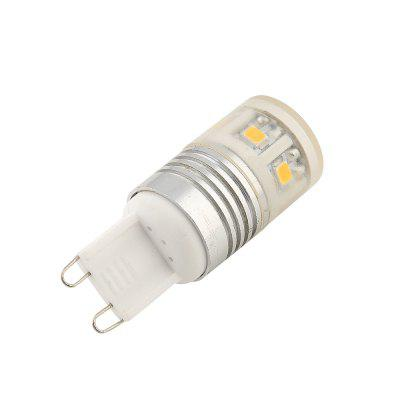 YouOKLight YK1416 G9 3W 1 1SMD 2835 LED Bead 4PCS AC 96 - 265VLED Bi-pin Lights<br>YouOKLight YK1416 G9 3W 1 1SMD 2835 LED Bead 4PCS AC 96 - 265V<br><br>Brand: YouOKLight<br>Color Temperature or Wavelength: 6000K<br>Connection: G9<br>Connector Type: G9<br>Dimmable: No<br>Finish: Aluminum<br>Initial Lumens ( lm ): 240<br>LED Beam Angle: 120 Degree<br>LED Quantity: 11<br>LED Type: SMD-2835<br>Lifetime ( h ): More than 1500<br>Light Source Color: Cold White<br>Material: Aluminum<br>Package Contents: 4 x LED Light<br>Package size (L x W x H): 6.00 x 8.40 x 2.10 cm / 2.36 x 3.31 x 0.83 inches<br>Package weight: 0.1040 kg<br>Plug Type: Full-sized<br>Primary Application: Bedroom,Ceiling,Children Room,Childrens Room,Everyday Use,Garage or Carport,Hallway or Stairwell,Home Decoration,Home or Office,Living Room,Living Room or Dining Room,Residential,Storage Room,Storage<br>Product size (L x W x H): 1.90 x 1.90 x 5.00 cm / 0.75 x 0.75 x 1.97 inches<br>Product weight: 0.0150 kg<br>Quantity: 4pcs<br>Type: LED Bulb<br>Voltage: 96 - 265V<br>Wattage: 3W