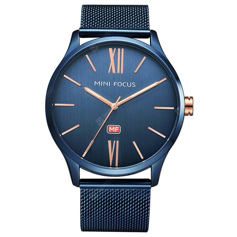 MINI FOCUS Mf0018G 4316 Fashion Steel Band Male Watch