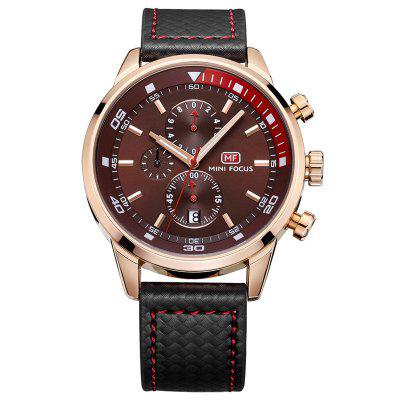 MINI FOCUS Mf0017G 4317 Leisure Pin Buckle Male Watch