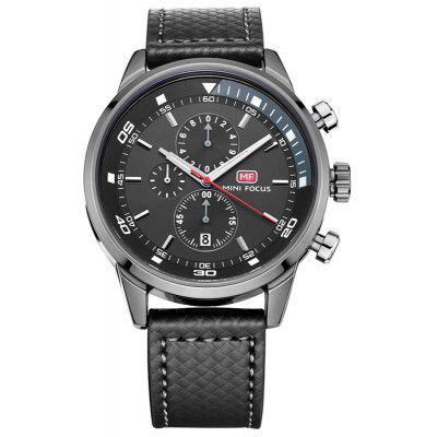 gearbest.com - MINI FOCUS Mf0017G 4317 Leisure Pin Buckle Men Watch