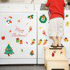 Buy Christmas Tree Candy Snow Decoration Window Wall Stickers COLORFUL