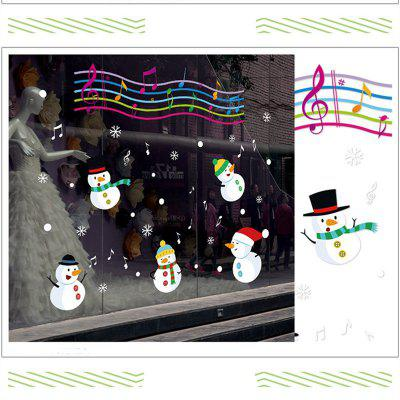Christmas Snowman Christmas Decorations windows Wall StickersWall Stickers<br>Christmas Snowman Christmas Decorations windows Wall Stickers<br><br>Art Style: Plane Wall Stickers, Toilet Stickers<br>Function: Decorative Wall Sticker<br>Material: Vinyl(PVC)<br>Package Contents: 1 x Wall Sticker<br>Package size (L x W x H): 60.00 x 5.00 x 5.00 cm / 23.62 x 1.97 x 1.97 inches<br>Package weight: 0.2000 kg<br>Product size (L x W x H): 90.00 x 60.00 x 0.30 cm / 35.43 x 23.62 x 0.12 inches<br>Product weight: 0.1800 kg<br>Quantity: 1<br>Sizes: 60 x 90cm<br>Subjects: Holiday,Cartoon,Christmas<br>Suitable Space: Living Room,Bedroom,Office,Kids Room,Kitchen,Kids Room,Boys Room,Girls Room<br>Type: Plane Wall Sticker