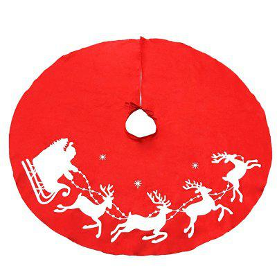 New Style Elk Print Tree Skirt Christmas DecorationsChristmas Supplies<br>New Style Elk Print Tree Skirt Christmas Decorations<br><br>Color: Red<br>For: Others<br>Material: Nonwoven, PVC<br>Package Contents: 1 x Tree Skirt<br>Package size (L x W x H): 30.00 x 5.00 x 5.00 cm / 11.81 x 1.97 x 1.97 inches<br>Package weight: 0.1800 kg<br>Product size (L x W x H): 100.00 x 100.00 x 0.50 cm / 39.37 x 39.37 x 0.2 inches<br>Product weight: 0.1300 kg<br>Usage: Christmas, Party