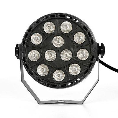 U`King 36W 12 Leds Purple Par Light Auto Dmx Sound Active Stage Effect Lighting with 2 Remote Control