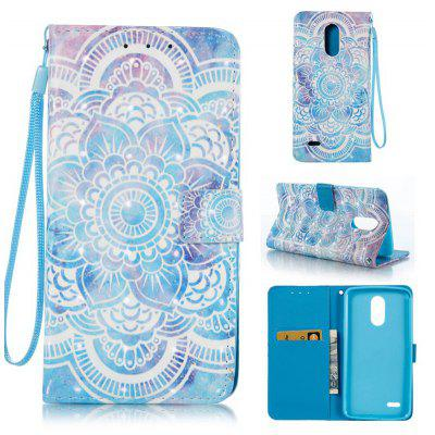 Buy BLUE 3D Painted Pu Phone Case for Lg Stylus3 for $5.66 in GearBest store