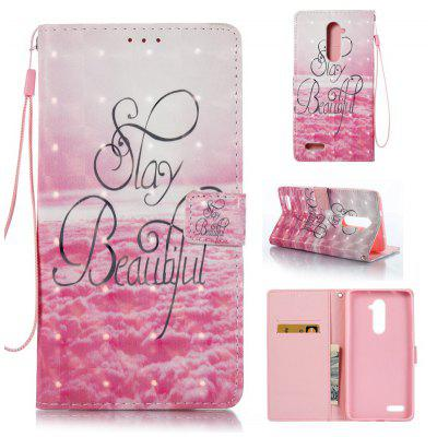 Buy PINK 3D Painted Pu Phone Case for Zte Z981 for $5.99 in GearBest store