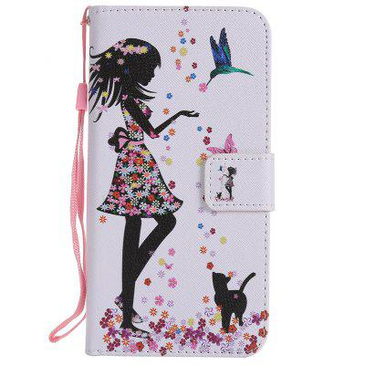 Painted Pu Phone Case for Zte Axon 7Cases &amp; Leather<br>Painted Pu Phone Case for Zte Axon 7<br><br>Compatible Model: Zte Axon 7<br>Features: Cases with Stand, With Credit Card Holder, With Lanyard, Dirt-resistant<br>Material: TPU, PU Leather<br>Package Contents: 1 x Phone Case<br>Package size (L x W x H): 16.00 x 8.00 x 1.50 cm / 6.3 x 3.15 x 0.59 inches<br>Package weight: 0.0660 kg<br>Style: Novelty