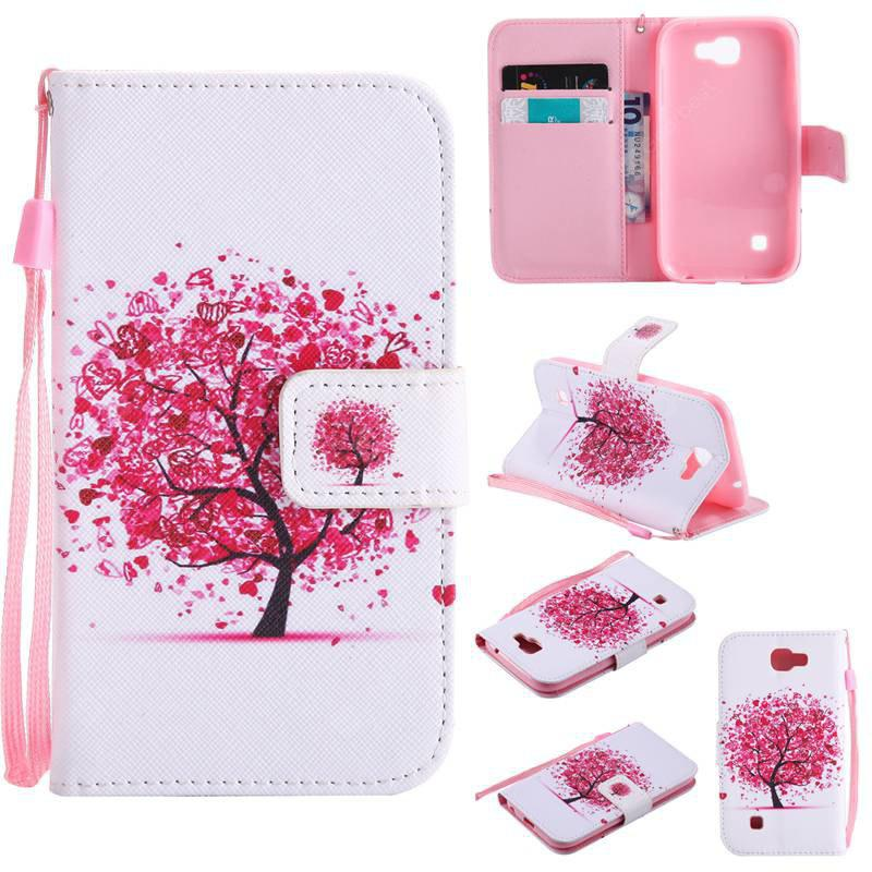 FLAME Painted Pu Phone Case for Lg K3 2017
