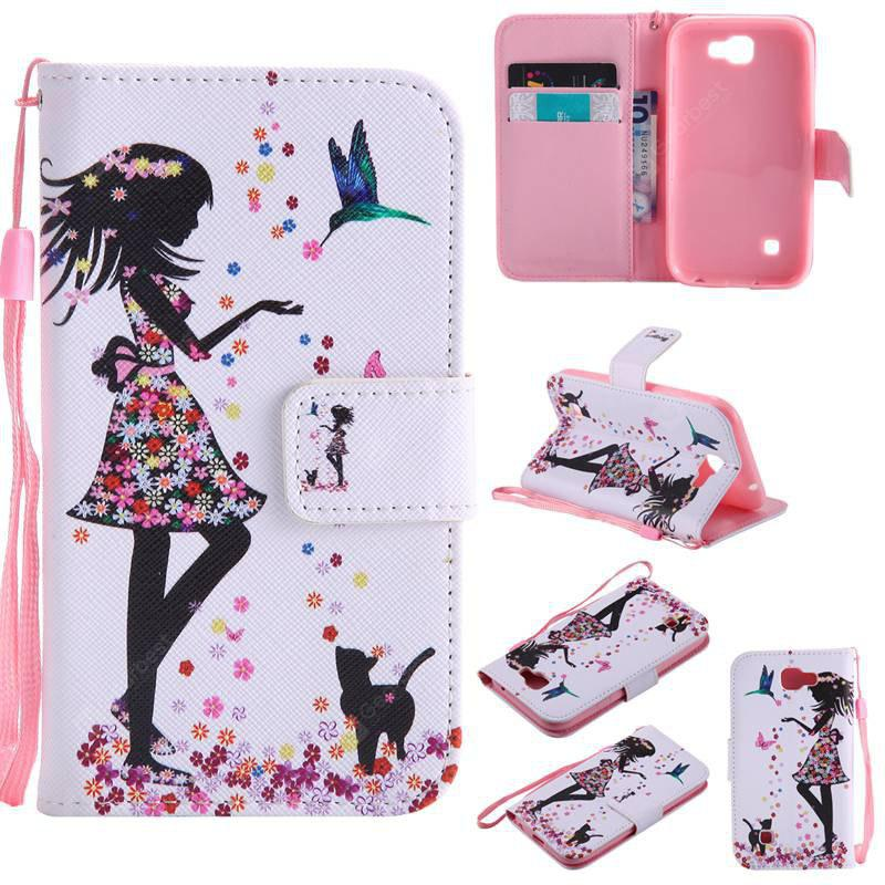 COLORMIX Painted Pu Phone Case for Lg K3 2017
