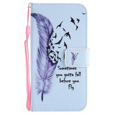 Painted Pu Phone Case for Lg K10 2017 / Lv5Cases &amp; Leather<br>Painted Pu Phone Case for Lg K10 2017 / Lv5<br><br>Compatible Model: LG K10 2017 / LV5<br>Features: Cases with Stand, With Credit Card Holder, With Lanyard, Dirt-resistant<br>Mainly Compatible with: LG<br>Material: TPU, PU Leather<br>Package Contents: 1 x Phone Case<br>Package size (L x W x H): 15.00 x 7.50 x 1.40 cm / 5.91 x 2.95 x 0.55 inches<br>Package weight: 0.0660 kg<br>Style: Novelty