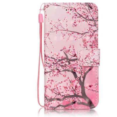 Buy PINK New 3D Painted Pu Phone Case for Iphone 6S / 6 for $4.76 in GearBest store