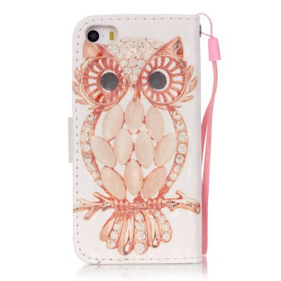 New 3D Painted Pu Phone Case for Iphone Se / 5S / 5iPhone Cases/Covers<br>New 3D Painted Pu Phone Case for Iphone Se / 5S / 5<br><br>Compatible for Apple: iPhone 5/5S, iPhone SE<br>Features: Wallet Case, Dirt-resistant, With Lanyard, With Credit Card Holder, Cases with Stand<br>Material: PU Leather, TPU<br>Package Contents: 1 x Phone Case<br>Package size (L x W x H): 13.00 x 7.00 x 1.80 cm / 5.12 x 2.76 x 0.71 inches<br>Package weight: 0.0500 kg<br>Style: Novelty