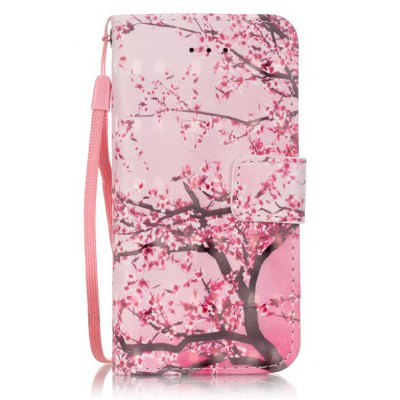Buy PINK New 3D Painted Pu Phone Case for Iphone Se / 5S / 5 for $4.65 in GearBest store