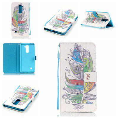 Buy COLORMIX New 3D Painted Pu Phone Case for Lg Ls775 / Stylus2 for $5.64 in GearBest store