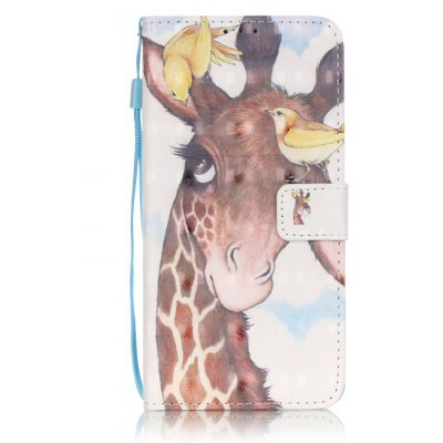 Buy BROWN New 3D Painted Pu Phone Case for Lg Ls775 / Stylus2 for $5.64 in GearBest store