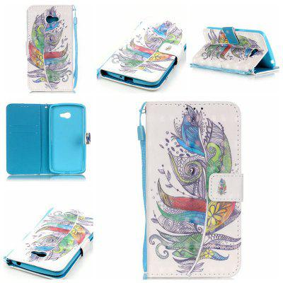 Buy COLORMIX New 3D Painted Pu Phone Case for Lg K5 / Q6 / X220g for $5.52 in GearBest store