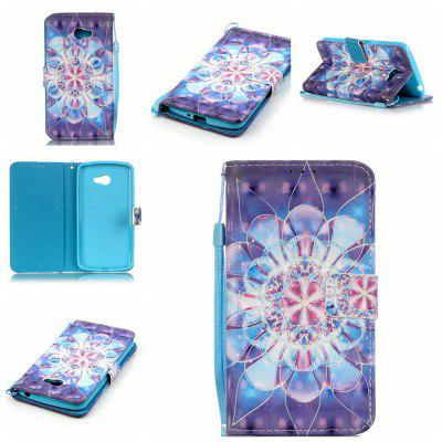 Buy CORNFLOWER New 3D Painted Pu Phone Case for Lg K5 / Q6 / X220g for $5.52 in GearBest store