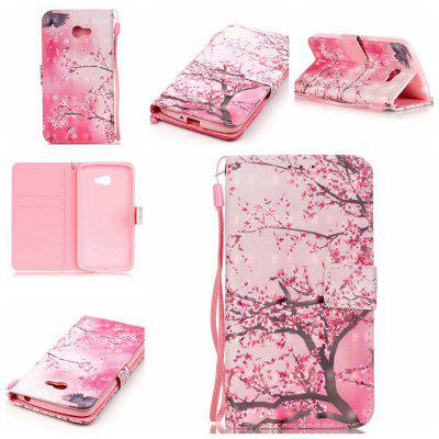 Buy PINK New 3D Painted Pu Phone Case for Lg K5 / Q6 / X220g for $5.52 in GearBest store