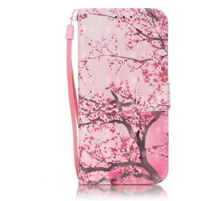 Buy PINK New 3D Painted Pu Phone Case for Samsung Galaxy S7 for $5.45 in GearBest store