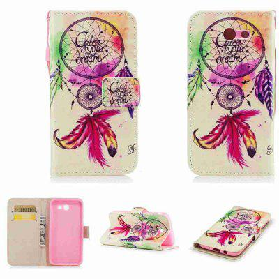 Buy ROSE MADDER Classic Painted Pu Phone Case for Samsung Galaxy J7 2017 for $5.43 in GearBest store