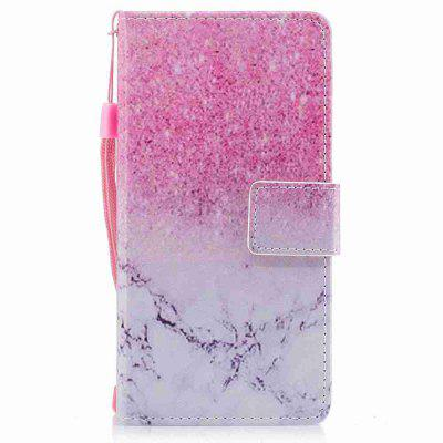 Buy PINK + GRAY Classic Painted Pu Phone Case for Huawei P10 Lite for $5.43 in GearBest store