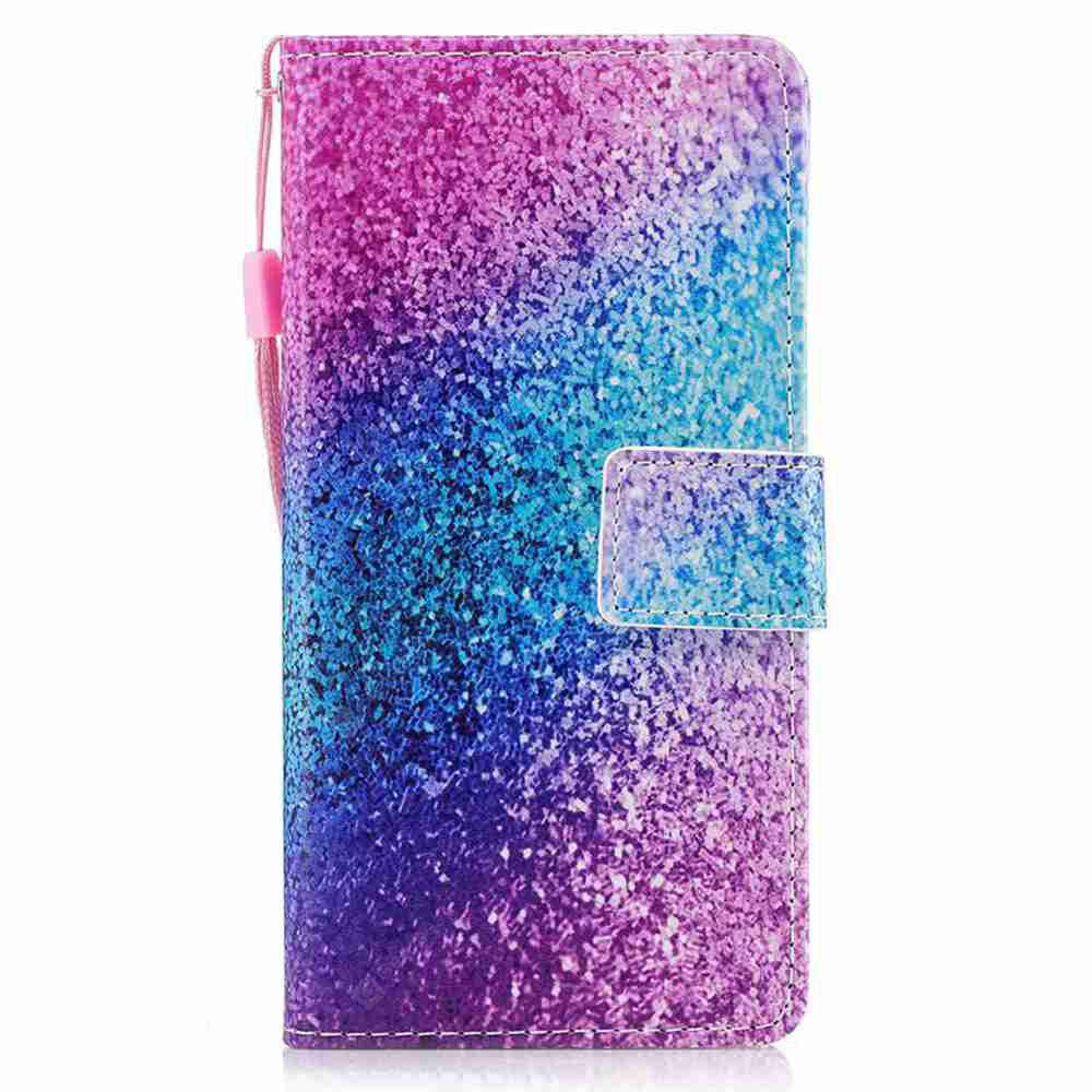 DAHLIA Classic Painted Pu Phone Case for Huawei P8 Lite 2017