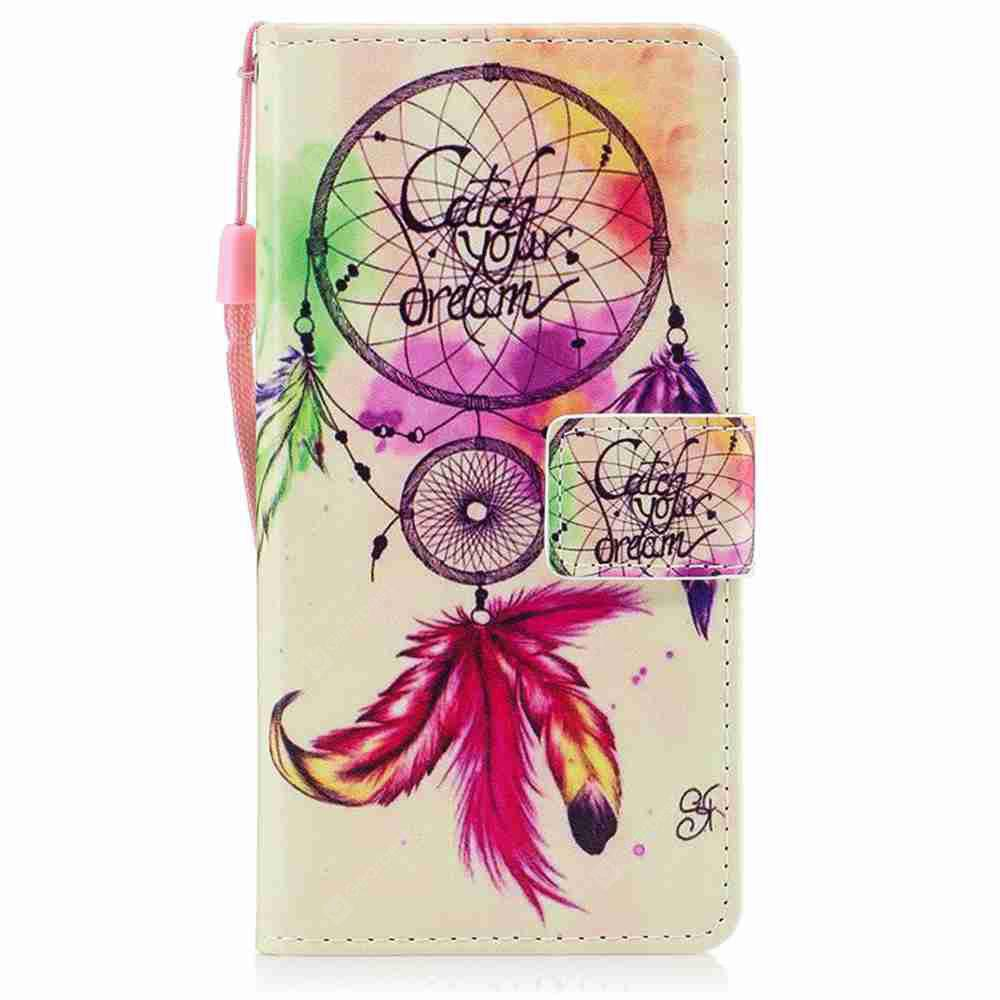ROSE MADDER Classic Painted Pu Phone Case for Huawei P8 Lite 2017