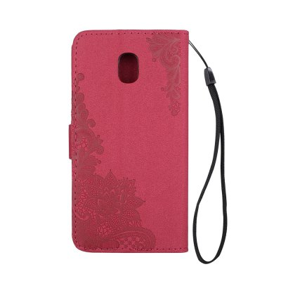 Wkae Embossed Phenix Flower Bling Shining Resin Rhinestone Pattern PU Leather Wallet Case with Lanyard Card Slots for Samsung Galaxy J3 2017 European EditionSamsung J Series<br>Wkae Embossed Phenix Flower Bling Shining Resin Rhinestone Pattern PU Leather Wallet Case with Lanyard Card Slots for Samsung Galaxy J3 2017 European Edition<br><br>Features: Full Body Cases, Cases with Stand, With Credit Card Holder, Anti-knock, Dirt-resistant<br>For: Samsung Mobile Phone<br>Material: TPU, PU Leather<br>Package Contents: 1 x Phone Case<br>Package size (L x W x H): 20.00 x 15.00 x 2.00 cm / 7.87 x 5.91 x 0.79 inches<br>Package weight: 0.1000 kg<br>Style: Vintage, Special Design
