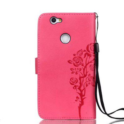Wkae Double-side Embossing Rose Flower Synthetic Leather Wallet Case Soft Silicone Back Cover with Flip Kickstand and Lanyard for Huawei NovaCases &amp; Leather<br>Wkae Double-side Embossing Rose Flower Synthetic Leather Wallet Case Soft Silicone Back Cover with Flip Kickstand and Lanyard for Huawei Nova<br><br>Compatible Model: Huawei Nova<br>Features: Dirt-resistant, Full Body Cases, Cases with Stand, With Credit Card Holder, Anti-knock<br>Mainly Compatible with: HUAWEI<br>Material: PU Leather, TPU<br>Package Contents: 1 x Phone Case<br>Package size (L x W x H): 20.00 x 15.00 x 2.00 cm / 7.87 x 5.91 x 0.79 inches<br>Package weight: 0.1000 kg<br>Style: Special Design