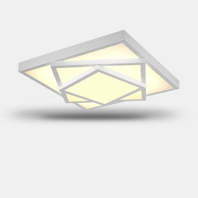 Ever-Flower Square Triple Tier Painted Finish LED Ceiling Light
