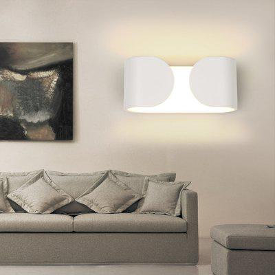 Ever - Flower Max 6W Modern LED Wall Sconces Light for Living Room Bedroom CorridorWall Lights<br>Ever - Flower Max 6W Modern LED Wall Sconces Light for Living Room Bedroom Corridor<br><br>Brand: Ever-Flower<br>Bulb Base: LED Integrated<br>Bulb Included: Yes<br>Color Temperature or Wavelength: Warm White 3000K / White 6000K<br>Finish: Painting<br>Fixture Material: Metal<br>Light Source Color: Cold White,Warm White<br>Number of Bulbs: 2<br>Package Contents: 1 x Lamp, 1 x Fittings Bag<br>Package size (L x W x H): 16.00 x 16.00 x 11.00 cm / 6.3 x 6.3 x 4.33 inches<br>Package weight: 0.8000 kg<br>Power Supply: AC Powered<br>Product size (L x W x H): 16.00 x 9.00 x 7.00 cm / 6.3 x 3.54 x 2.76 inches<br>Selling Point: Bulb Included,LED,Mini Style<br>Shade Material: Acrylic<br>Style: Modern/Contemporary, Simple<br>Suggested Room Size: 5 - 10 Square Meters<br>Type: Wall Sconces<br>Voltage: 110-120V,220 - 240V<br>Wattage: 6W<br>Wattage per Bulb ( W ): 3