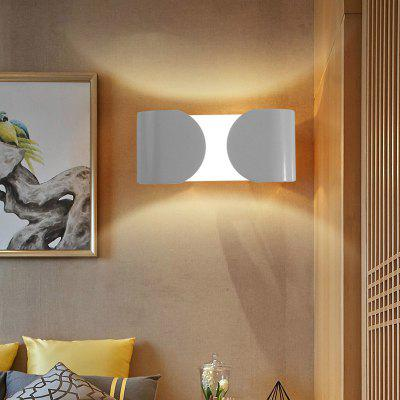Ever - Flower Max 6W Modern LED Wall Sconces Light for Living Room Bedroom Corridor